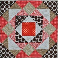 Pyramid block tutorial... for the Spring Sampler quilt ~ Cora's Quilts