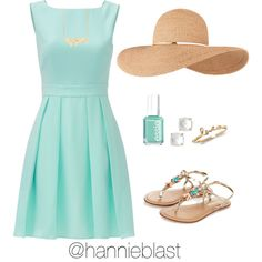 #ReadD Happy Resurrection Sunday!!!! by hannieblast on Polyvore featuring Kate Spade, Monsoon, Eugenia Kim and Essie