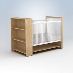 made here™handrubbed, multilayered, water-based, low-voc finishessustainably harvested hardwoods (no mdf or particle board)four mattress height settings for maximum versatilitytwo adjustable shelves for convenient storagecompatible with toddler rail