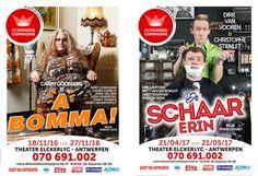 'De Komedie Compagnie' stunt theaterseizoen 2016-2017 met grote namen