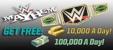 WWE Mayhem Hack   wwe mayhem Generator - Unlimited Cash and Gold