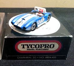Tyco Pro HO scale Cobra slot car, still in the package.
