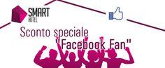"$PECIAL DISCOUNT ""FACEBOOK FAN"" www.smarthotelrome.com/en/special-offers"
