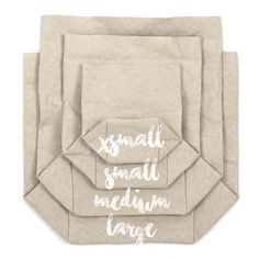 Washable paper bags that look and feel like leather, but wash and wear with ease.