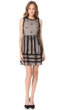 RED Valentino Ribbon and Bow Dress - so Cute!