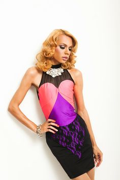 Here's fabulous Paul Mitchell Rabell modeling…   MessQueen
