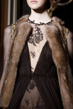 ANDREA JANKE Finest Accessories: VALENTINO Fall 2013 Couture | Behind The Scenes