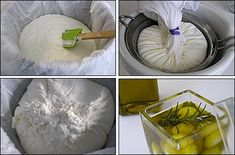 Yogurt -> Labneh (Childhood taste :) )