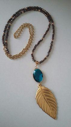 77e9e43231f5 Collar largo de Creaciones Little Flower. Bisutería fina 100% artesanal.   collares