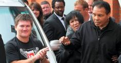 mickflieg www.mickflieg.wordpress.com HEADLINES PHOTOS MORE Saturday, Jun. 04, 2016 Next update in about 9 hours Archives Ricky Hatton and Anthony Crolla pay tribute to Muhammad Ali manchestereveni…
