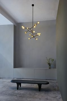 decoration home decor Interior Lighting, Home Lighting, Lighting Design, Overhead Lighting, Gray Interior, Interior And Exterior, Modern Interior, Design Minimalista, Luz Led