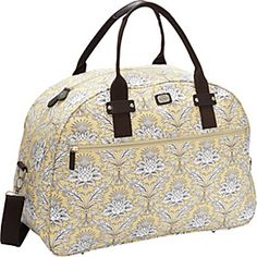 Eva Mae Weekender :: carry on bag w/slide on sleeve for putting on top of the rolling suitcase