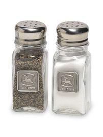 John Deere Salt and Pepper Shaker Set