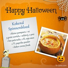 Kokend Spinnenbloed! Lekker tijdens je griezelig avondeten op Halloween.
