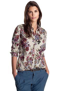 cotton blouse CASUAL - Esprit Online-Shop. Gorgeous.