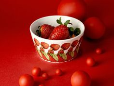 DESIGN HOUSE STOCKHOLMElsa Beskow Collection Bowl The Strawberry family