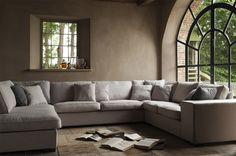 Leefhoek Bloomsbury is een hoekbank of loungebank in U-opstelling. Een leefhoek biedt veel zitplaatsen en comfort en kan door veel mensen gelijktijdig worden gebruikt, een ideale bank om met het het hele gezin gelijktijdig te relaxen.
