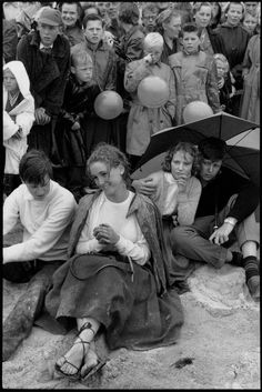 Henri Cartier-Bresson - Sweden. Tylösand. 1956.