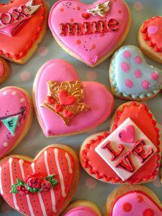 Queen of Hearts Cookies, for decorative cookies visit, biscuiteers.com great website!