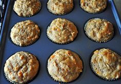 Sweet Potato & Orange Muffins: Oil-Free and No Refined Sugar!