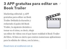 Marketing editorial: 3 APP gratuitas para editar un Book Trailer