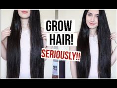 Grow Your Hair Faster In One Day! (GROW .5 INCH OVERNIGHT!!) *PROOF* - YouTube