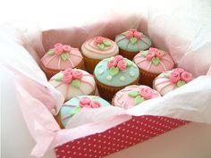 ❤ beautiful pastel cupcake miniatures