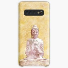 'Zen Buddha Meditation Statue in gold background' Case/Skin for Samsung Galaxy by Annie Nader Buddha Zen, Buddha Meditation, Gold Background, Semi Transparent, Bubbles, Samsung Galaxy, My Arts, Statue, Art Prints