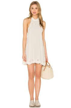 6e977dbcd9411 Shop for Cleobella Raquel Short Dress in Ivory at REVOLVE.