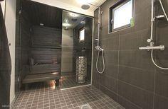 Kotina kivitalo: kylpyhuone