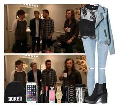 """""""One Direction"""" by irish26-1 ❤ liked on Polyvore featuring L. Erickson, Forever 21, H&M, NARS Cosmetics, Glamorous, Dot & Bo, Guerlain, women's clothing, women and female"""