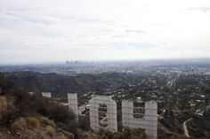 On the Grid :: The Hollywood Sign, Griffith Park, Los Angeles