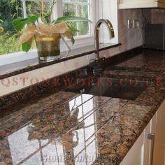 Baltic Brown Granite Worktop Granite Worktops, Pine Kitchen, Brown Granite, Kitchen Design, Kitchen Ideas, Kitchen Remodel, Home Improvement, Sweet Home, New Homes