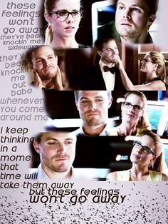 Arrow - Felicity & Oliver #Olicity #Season2 #2.4