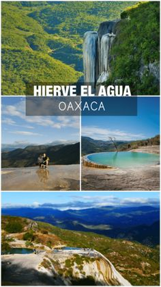 Oaxaca Mexico travel guide: 5 natural wonders not to miss – The GreenPick - hierve el agua oaxaca places to visit in mexico natural wonder - Cancun, Cozumel, Tulum, Mexico Vacation, Mexico Travel, Italy Vacation, Places To Travel, Travel Destinations, Places To Visit