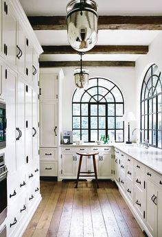 below stairs: kitchen