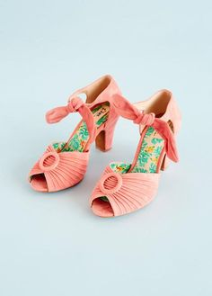 Pump i rosa ruskind   Miss L-fire   Køb online - Dress the bird