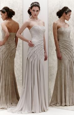 """Camellia"" wedding gown by Jenny Packham"