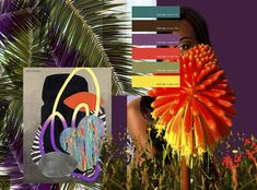 Verónica Solivellas: Colour Trends SS 17 Strong color ranges, with urban ethnic connotations. The colors of the Caribbean seas and tropical forests, exotic florals and green of vegetation.