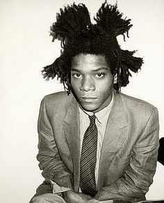 Basquiat. Style influence. This guy had a strange personality type.