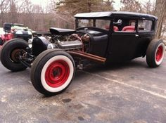 LegendaryFinds - Page 163 of 809 - Awesome hot rods and muscle cars from around the web! Model A Rat Rod, Classic Race Cars, Traditional Hot Rod, Lead Sled, Ford Bronco, Street Rods, Ford Models, Hot Rods, Custom Cars