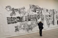 Dawn Clements, Saatchi Gallery-'Paper'