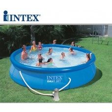 1000 images about piscine fuori terra intex on pinterest metal frames terrazzo and frames - Piscina da giardino intex ...