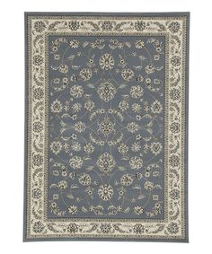 Gray Blue Andrea Rug