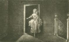 Chodowiecki, Die Starostschenka Ledikowska (Danziger Skizzen, 1773).