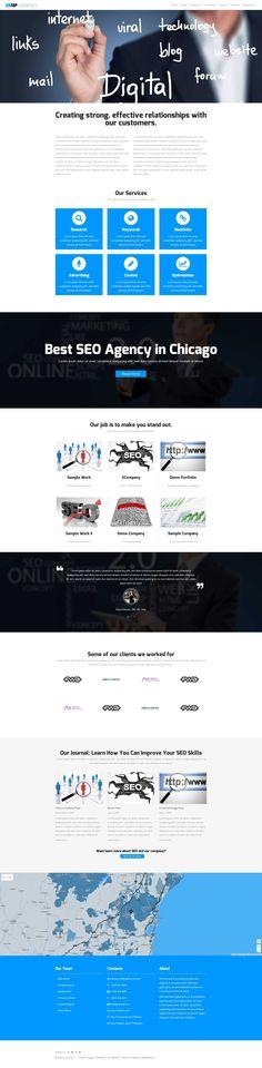Ontop - a responsive SEO Agency WordPress Theme
