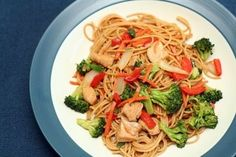 ... food on Pinterest | Asian Chicken Salads, Asian Chicken and Lo Mein