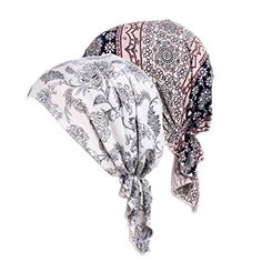 1abe3fc1c1a9e Women s Comfort Head Scarf Turban Headwear Chemo Beanie Scarves Coverings  (Color Mix) at Amazon Women s Clothing store