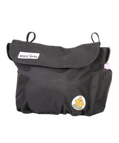 Take a look at this Black Roogo Bag by Royal Baby Connection on #zulily today! $35 !!