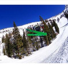 Yeah, we're still throwing it down - and it's April. #SpringSki #utah #Snowbird #ski #bluebird #ski